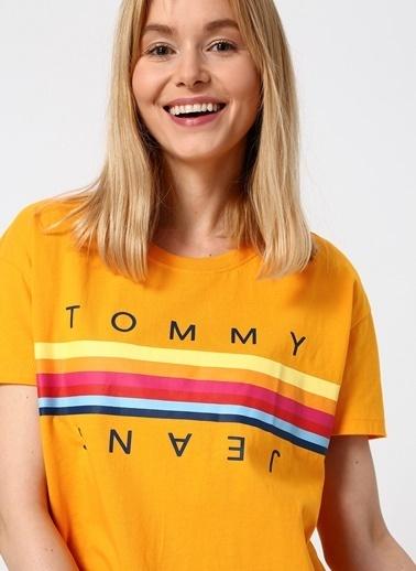 Tommy Hilfiger Tişört Sarı